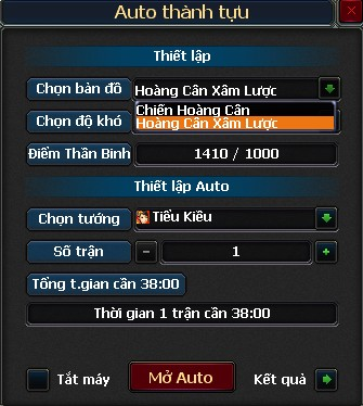 auto chien hoang can xam luoc
