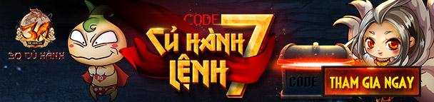 Củ Hành Lệnh 7 - Code