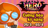 Nâng cấp kỹ năng Hero