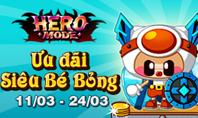 X2 với Siêu Bé Bỏng tại Hero Mode