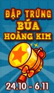Đập trứng Búa Hoàng Kim