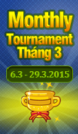 Monthly Tournament T3.1015
