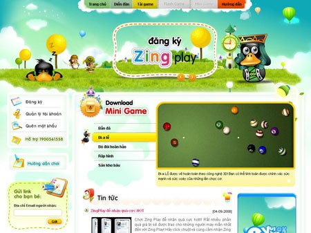 download cong game cua zing play