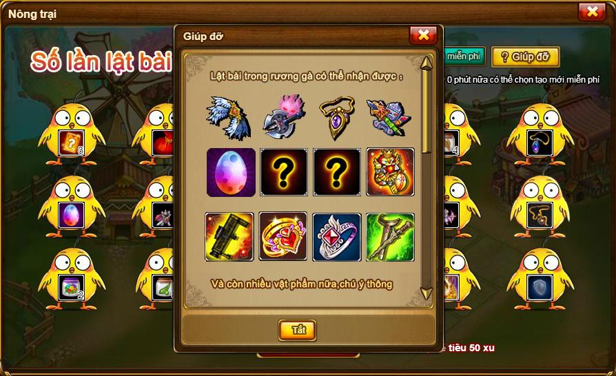 Rương Gà bí ẩn chính thức trở lại với cộng đồng game thủ Gunny - ảnh 15