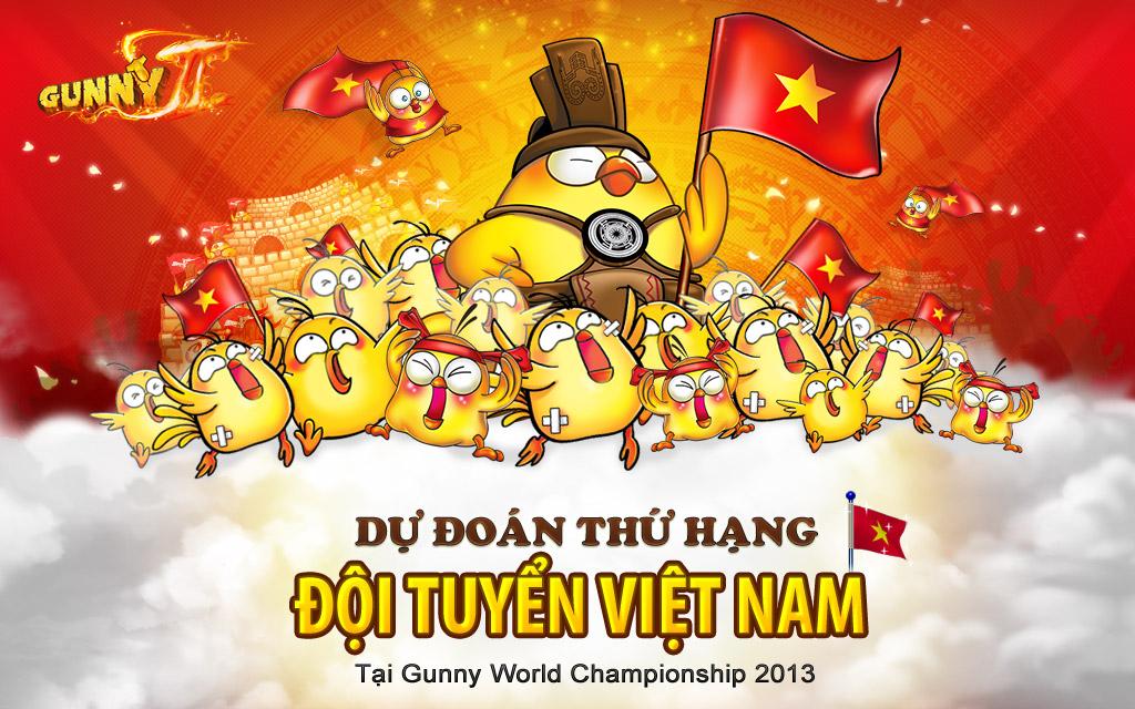 Dự đoán thứ hạng tuyển Việt Nam