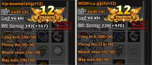 VIP-Boomerang và WOW-Lu Gạch
