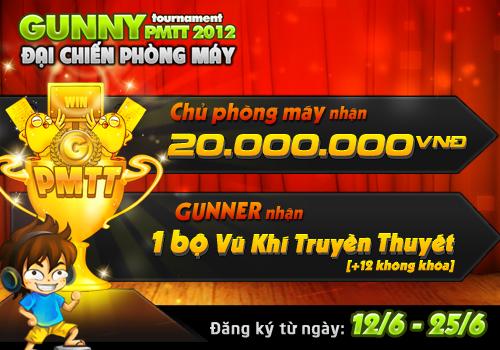 Giải đấu Gunny PMTT 2012