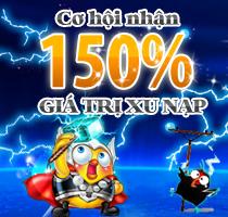 Khuyến mãi 150%