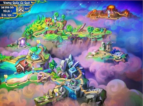 Khu Vườn Trên Mây