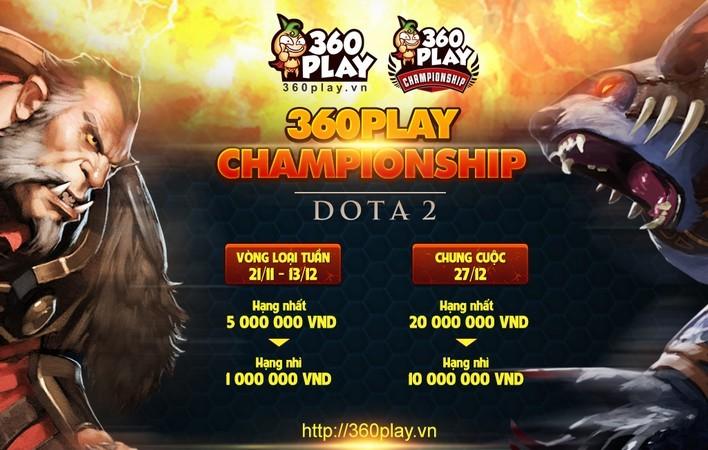 360Play Championship Dota 2 tuần 2