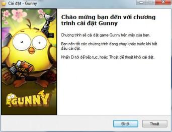 Hướng dẫn cài đặt Gunny trên 360Play