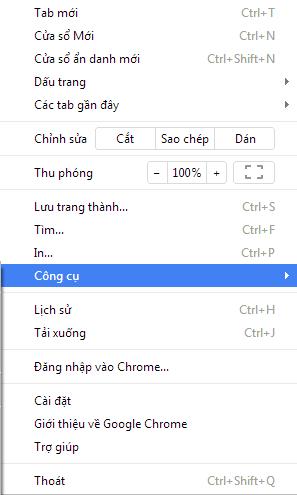 Webgame nhập vai kiếm hiệp Phong Vân - Xóa Cache