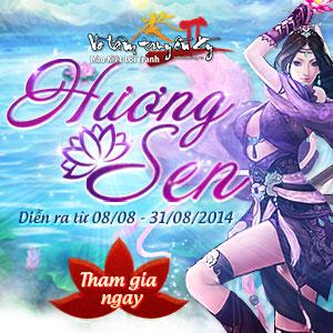 event tháng 8 - Hương Sen