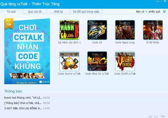 Webgame nhập vai Võ Lâm Chi Mộng - Hướng Dẫn Nhận Code Cùng CCTalk