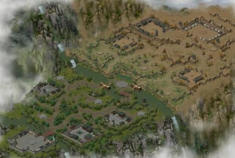 Bản đồ chiến trường Tống - Mông