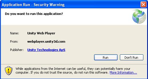 Hướng dẫn cài đặt Unity Web Player