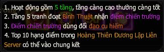 Huyết Chiến Tam Quốc - Hoàng Thiên Đường Lập 1
