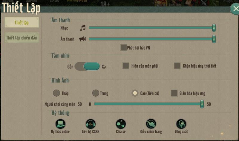 """Sforum - Trang thông tin công nghệ mới nhất thietlap2 Hướng dẫn chơi Võ Lâm Truyền Kỳ 1 Mobile trên PC: Thoải mái """"cày"""" không lo """"hao mòn"""" điện thoại"""